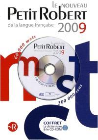 Coffret Petit Robert 2009