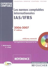 Les normes comptables internationales IAS-IFRS : 2006-2007