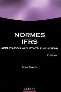 Normes IFRS : application aux états financiers