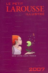 Le petit Larousse illustré 2007 : série limitée signée Moebius : coffret Noël