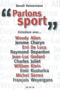 Parlons sport