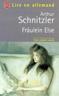 Fräulein Else : texte original annoté