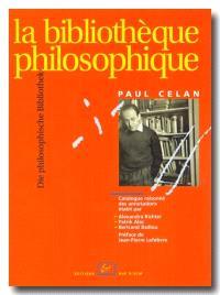 La bibliothèque philosophique = Die philosophische Bibliothek