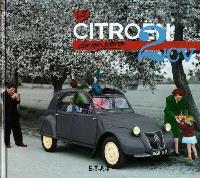 La Citroën 2 CV de mon père