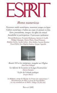 Esprit. n° 353, Homo numericus