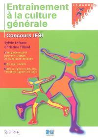 Entraînement à la culture générale : concours IFSI