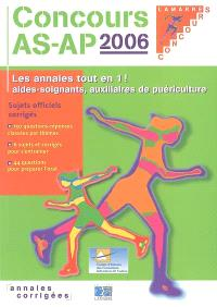 Concours AS-AP 2006