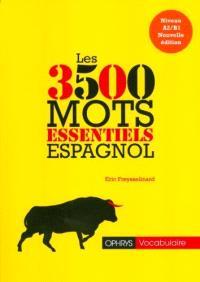Espagnol : les 3.500 mots essentiels