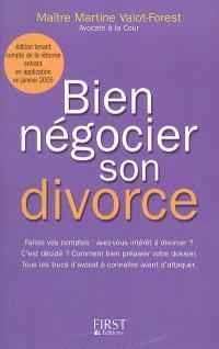 Bien négocier son divorce