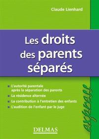 Les droits des parents séparés