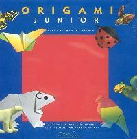 Origami junior : origami inspirés d'oeuvres du Metropolitan museum of art