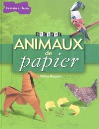 Animaux de papier