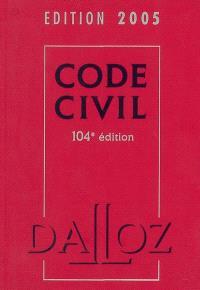 Code civil 2005