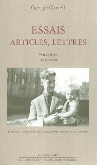 Essais, articles, lettres. Volume 4, 1945-1950