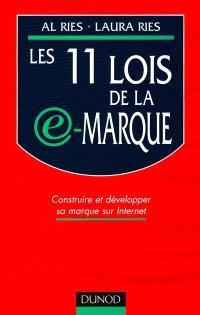 Les 11 lois de la e-marque : créer et développer vos marques sur Internet