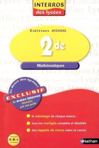 Mathématiques 2de