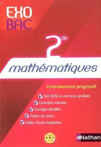 Mathématiques 2de : l'entraînement progressif