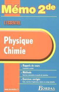 Physique, chimie : rappels de cours, méthode, exercices corrigés