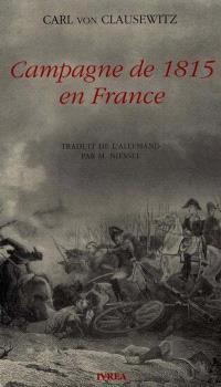 Campagne de 1815 en France