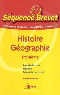 Histoire-géographie troisième
