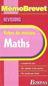 Maths : fiches de révision