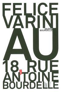 Felice Varini au 18, rue Antoine-Bourdelle : exposition, Paris, Musée Bourdelle, 8 février-21 mai 2006