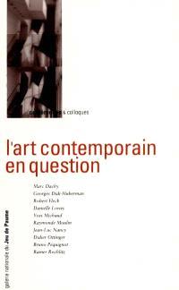 L'Art contemporain en question