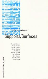 Supports-surfaces : colloque, Auditorium Colbert de la Bibliothèque nationale de France, 24 juin 1998
