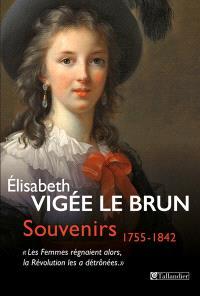 Souvenirs, 1755-1842