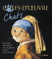 Chefs d'oeuvre, chats : les chats détournent des classiques de l'art