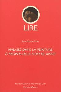 Malaise dans la peinture : à propos de La mort de Marat