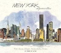 New York : aquarelles