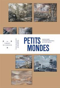 Petits mondes : miniatures strasbourgeoises du XVIIe siècle