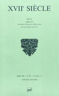 Dix-septième siècle. n° 230, L'Eglise et la peinture dans la France du XVIIe siècle : les écrits d'écclésistiques, entre théologie et théorie de l'art
