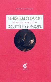 L'espace du pardon : une lecture de Le reniement de saint Pierre, vers 1610, du Pensionnaire de Saraceni, musée de La Chartreuse, Douai