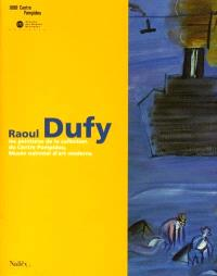 Raoul Dufy : les peintures de la collection du Centre Pompidou, Musée national d'art moderne