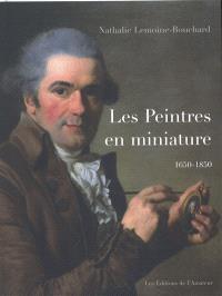 Dictionnaire des peintres en miniature (1650-1850)