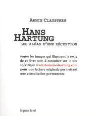 Hans Hartung : les aléas d'une réception