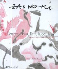 L'encre, l'eau, l'air, la couleur : encres de Chine et aquarelles, 1954-2007