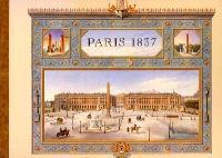 Paris 1837 : vues de quelques monuments de Paris achevés sous le règne de Louis-Philippe 1er : aquarelles de Félix Duban