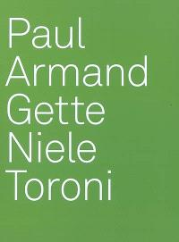 Paul Armand Gette, Niele Toroni
