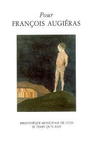 Pour François Augiéras