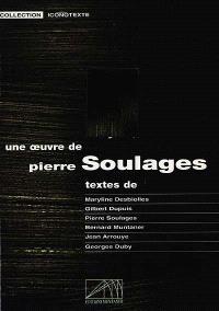 Une oeuvre de Pierre Soulages : Peinture, 14-08-1979