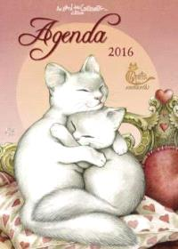 Agenda 2016 : chats enchantés