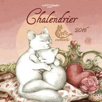 Chalendrier 2016 : chats enchantés