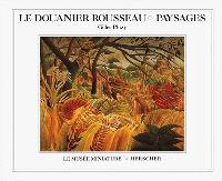 Le Douanier Rousseau, paysages