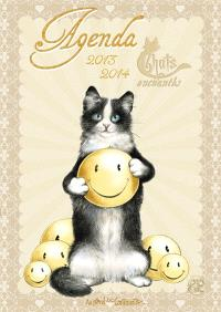 Agenda 2013-2014 : chats enchantés