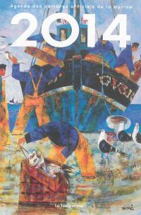 Agenda 2014 des peintres officiels de la Marine