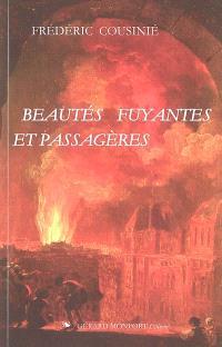 Beautés fuyantes et passagères : la représentation et ses objets-limites aux XVIIe-XVIIIe siècles
