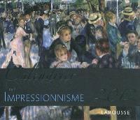 Calendrier 2012 de l'impressionnisme : 52 magnifiques oeuvres d'art pour vous accompagner tout au long de l'année 2012